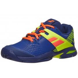 Babolat Propulse AC Blue/Fluo Aero Junior Shoes