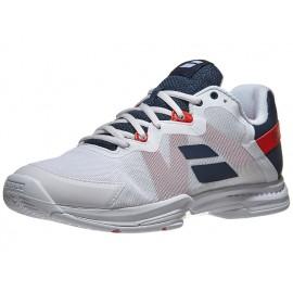 Babolat SFX3 AC White/Blue Men's Shoes