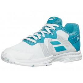 Babolat SFX3 All Court White/Blue Women's Shoes