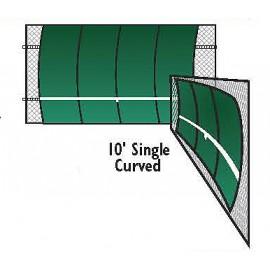 Bakko Backboard Single Curve 10x12