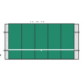 Bakko Backboard Professional Flat Series 10x20