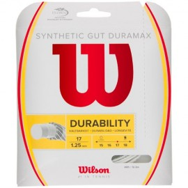 Wilson Synthetic Gut Duramax String 17G White