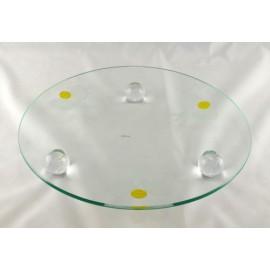 Glass Fruit Tray
