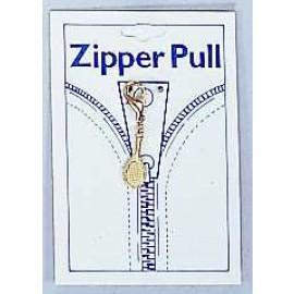 Tennis Racquet Zipper Pull, Small