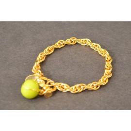 Tennis Toggle Bracelet w/Tennis Ball