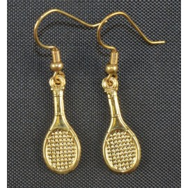 Racquet Earrings, Small
