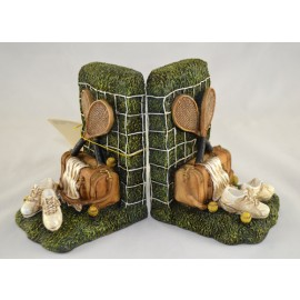 Antique Tennis Bookends