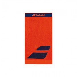 Babolat Medium Tennis Towel - Flame/Estate Blue
