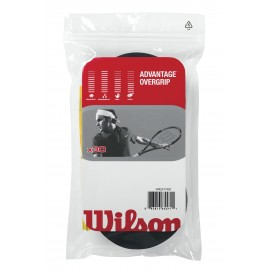 Wilson Advantage Overgrip Black 30pk